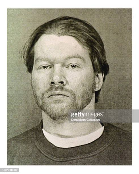 Singer Axl Rose mugshot February 1998