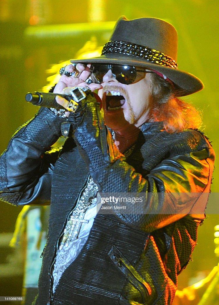 Guns N' Roses Performs At The Hollywood Palladium
