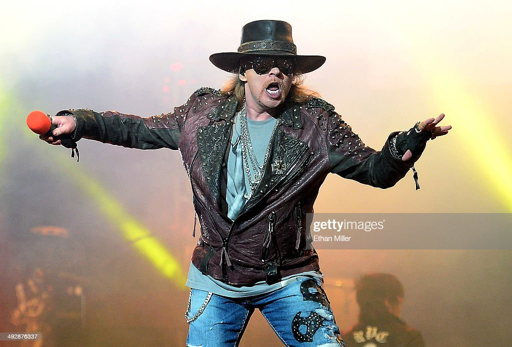 Opening Night Of Guns N' Roses' Second Residency At The Joint : News Photo