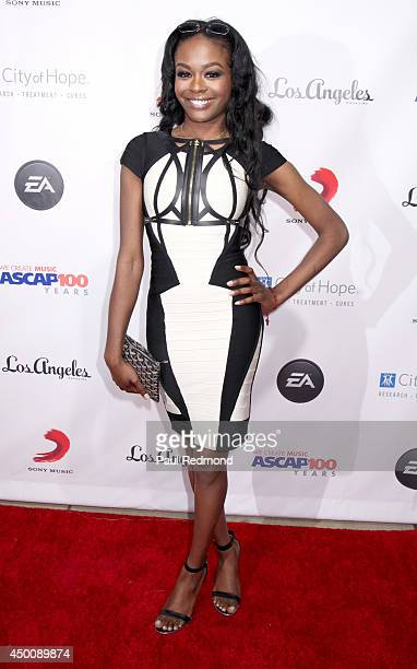 Singer Azealia Banks arrives at Songs Of Hope X 10th Anniversary Event Benefiting City Of Hope at House of Fair on June 4 2014 in Brentwood California