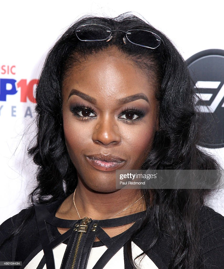 Singer Azealia Banks arriving at Songs Of Hope X 10th Anniversary Event Benefiting City Of Hope at House of Fair on June 4, 2014 in Brentwood, California.