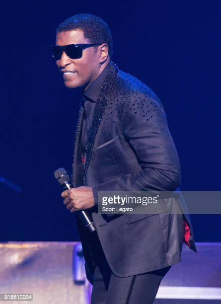 Singer Babyface performs at The Soundboard Motor City Casino on February 15 2018 in Detroit Michigan