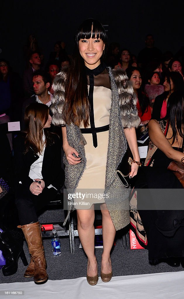 Singer Baiyu attends Son Jung Wan during Fall 2013 Mercedes-Benz Fashion Week at The Studio at Lincoln Center on February 9, 2013 in New York City.