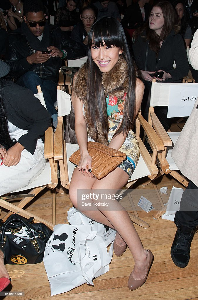 Singer Baiyu attends the Boy Meets Girl By Stacy Igel 2013 Style360 Fashion Show at Style360 on February 13, 2013 in New York City.