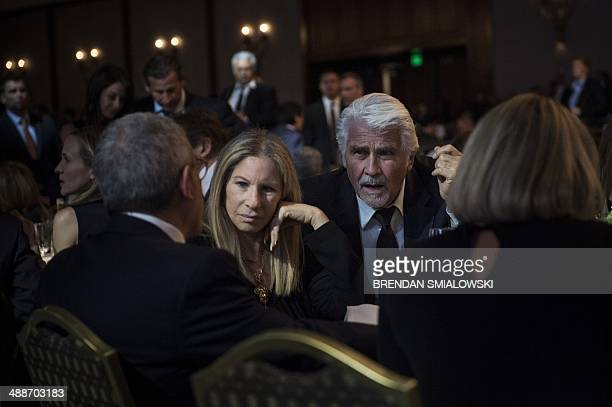 Singer Barbra Streisand and husband actor James Brolin attend the University of Southern California Shoah Foundation Ambassadors for Humanity 20th...