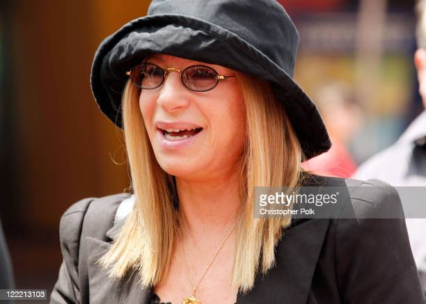 Singer Barbra Streisand arrives at the premiere of 'Standing Ovation' at Universal AMC CityWalk Stadium 19 Cinemas on July 10 2010 in Universal City...
