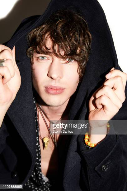 Singer Barns Courtney is photographed for Rogue Magazine on November 30 2017 in Los Angeles California