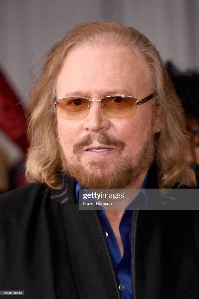 Singer Barry Gibb attends The 59th GRAMMY Awards at STAPLES Center on February 12, 2017 in Los Angeles, California.