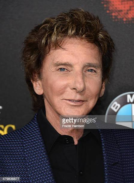 Singer Barry Manilow arrives at the 2nd Annual Rebels With A Cause Gala at Paramount Studios on March 20 2014 in Hollywood California