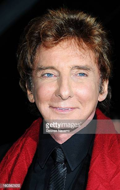 Singer Barry Manilow attends Manilow On Broadway Opening Night After Party at the Copacabana on January 29 2013 in New York City