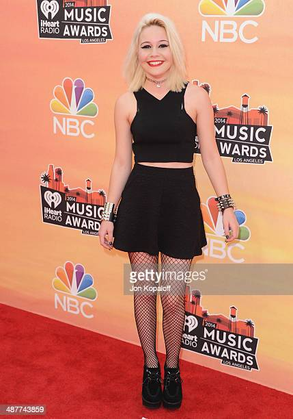 Singer Bea Miller arrives at the 2014 iHeartRadio Music Awards at The Shrine Auditorium on May 1 2014 in Los Angeles California