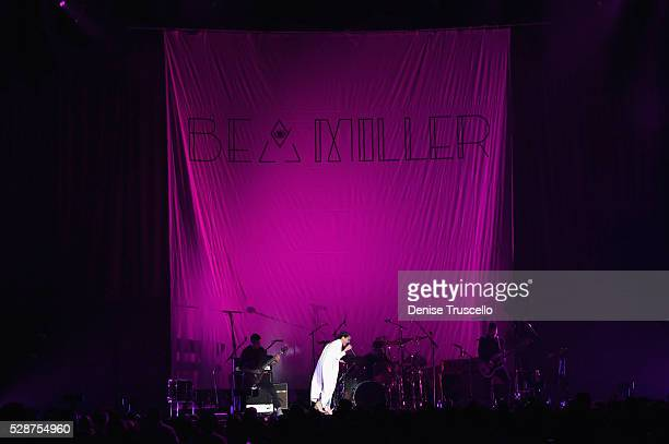 Singer Bea Miller performs during opening night of the Selena Gomez 'Revival World Tour' at the Mandalay Bay Events Center on May 06 2016 in Las...