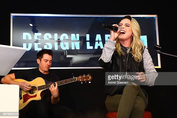 Singer Bea Miller performs during the Lord Taylor launch of Design Lab on March 26 2015 in New York City
