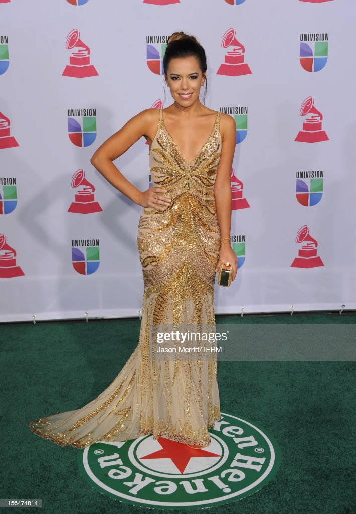 Singer Beatriz Luengo arrives at the 13th annual Latin GRAMMY Awards held at the Mandalay Bay Events Center on November 15, 2012 in Las Vegas, Nevada.