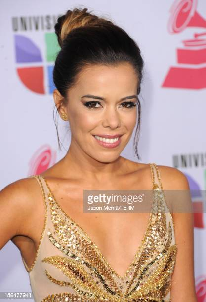 Singer Beatriz Luengo arrives at the 13th annual Latin GRAMMY Awards held at the Mandalay Bay Events Center on November 15 2012 in Las Vegas Nevada