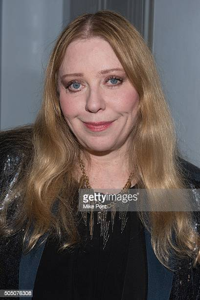 Singer Bebe Buell attends the Velvet Underground Lou Reed Benefit Tribute 50th Anniversary Celebration of the Arts at The Cutting Room on January 14,...