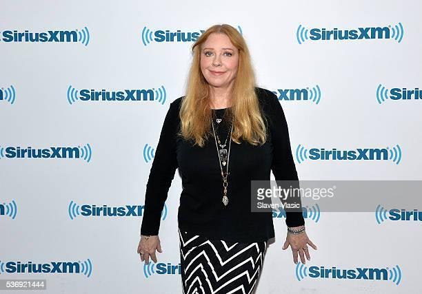 Singer Bebe Buell visits SiriusXM Studios on June 1, 2016 in New York City.