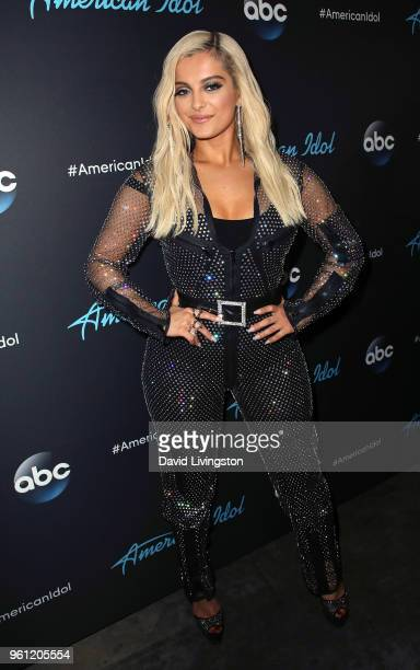 Singer Bebe Rexha attends ABC's 'American Idol' Finale on May 21 2018 in Los Angeles California