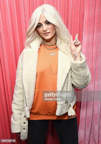 Singer Bebe Rexha attends Park City Live Presents The Hub Featuring The Marie Claire Studio and the 4K ULTRA HD Showcase Brought to You by the...