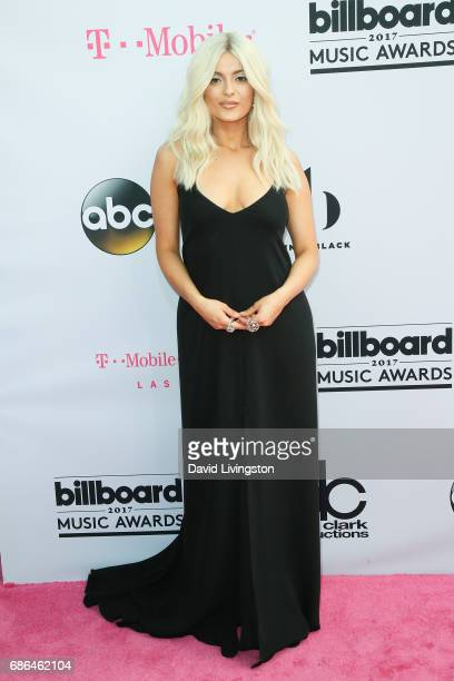 Singer Bebe Rexha attends the 2017 Billboard Music Awards at the TMobile Arena on May 21 2017 in Las Vegas Nevada