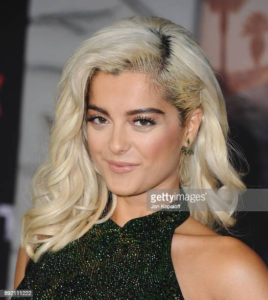 Singer Bebe Rexha attends the premiere of Netflix's 'Bright' at Regency Village Theatre on December 13 2017 in Westwood California