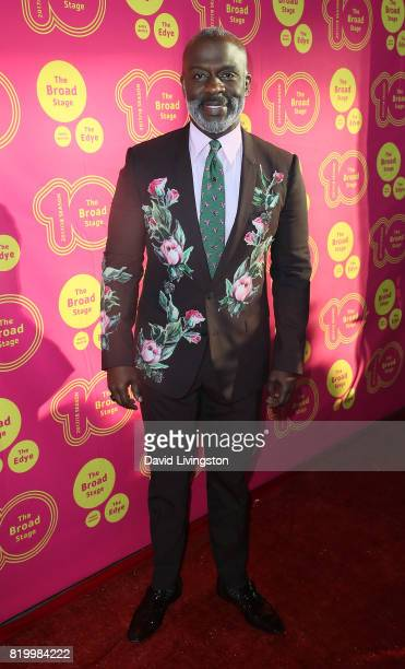 Singer BeBe Winans attends the opening night of Born For This at The Broad Stage on July 20 2017 in Santa Monica California
