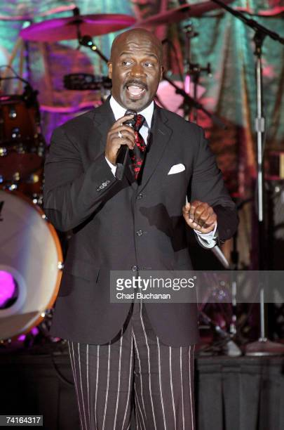 Singer BeBe Winans performs at the 55th Annual BMI Pop Awards at the Regent Beverly Wilshire Hotel on May 15 2007 in Beverly Hills California