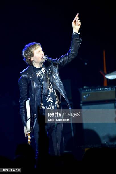 Singer Beck performs osntage during The Malibu Love Sesh Benefit Concert at Hollywood Palladium on January 13 2019 in Los Angeles California