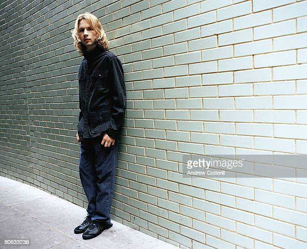 Singer Beck poses for a portrait shoot for the Big Issue magazine in London on September 17 2006