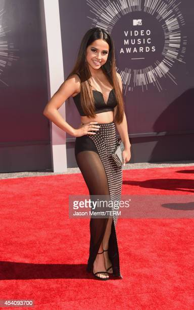 Singer Becky G attends the 2014 MTV Video Music Awards at The Forum on August 24 2014 in Inglewood California