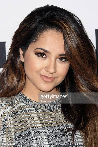 Singer Becky G attends the Salvation Army's 6th annual Rock The Red Kettle concertat held at LA LIVE on December 5 2015 in Los Angeles California