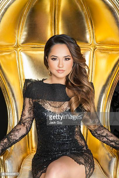 Singer Becky G is photographed for Latina Magazine on December 2 2015 in Los Angeles California COVER IMAGE