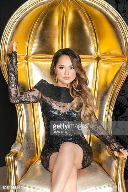 Singer Becky G is photographed for Latina Magazine on December 2 2015 in Los Angeles California