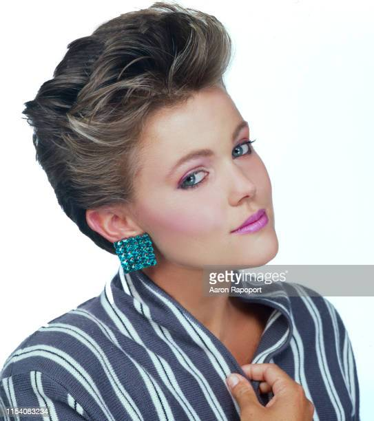 Singer Belinda Carlisle of The GoGo's poses for a portrait in Hollywood California