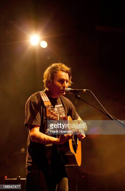 Singer Ben Howard performs live during a concert at the Tempodrom on December 13 2012 in Berlin Germany