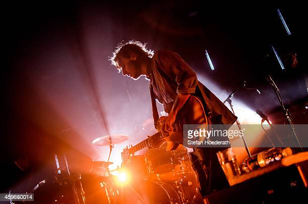 Singer Ben Howard performs live on stage during a concert at Tempodrom on November 27 2014 in Berlin Germany