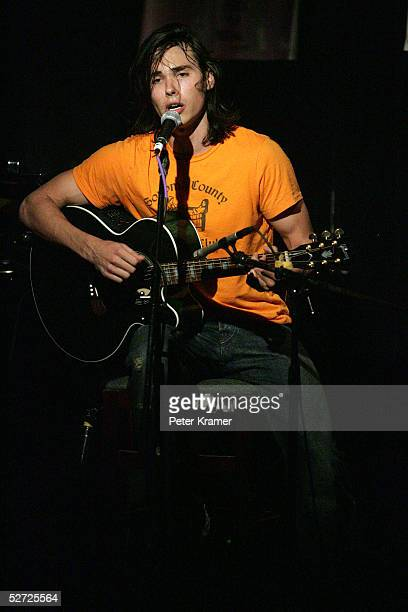 Singer Ben Jelen performs during the Tribeca Film Festival ASCAP Music Lounge. The ASCAP Music Lounge is dedicated to showcasing the exceptional...