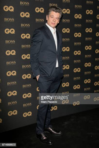 Singer Benjamin Biolay attends the 'GQ Men of the year awards 2017' at Le Trianon on November 15 2017 in Paris France