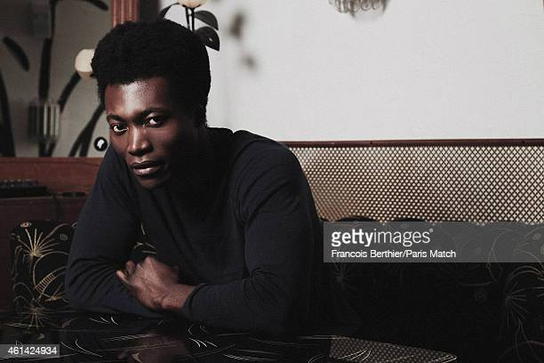 Singer Benjamin Clementine is photographed for Paris Match on December 17 2014 in Paris France