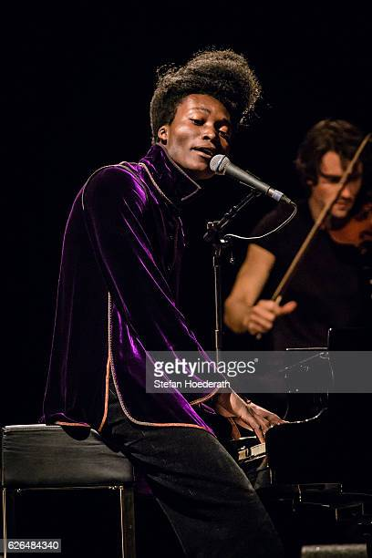 Singer Benjamin Clementine performs live on stage during a concert at Tempodrom on November 29 2016 in Berlin Germany