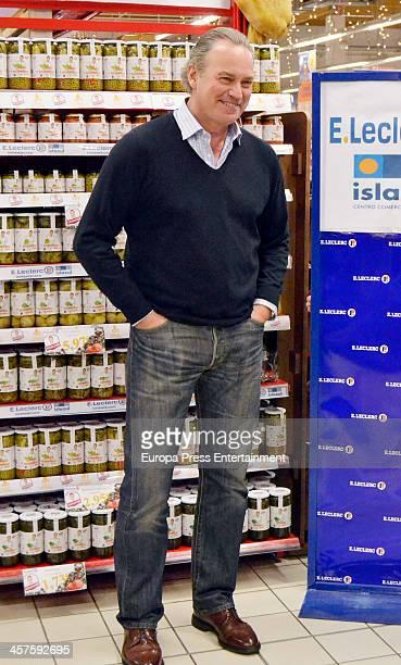 Singer Bertin Osborne presents his range of products 'nutrition Bertin Osborne' on December 17 2013 in Madrid Spain