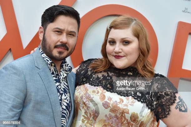 Singer Beth Ditto and Ted Kwo arrive at Amazon Studios premiere of 'Don't Worry He Won't Get Far on Foot' at ArcLight Hollywood on July 11 2018 in...