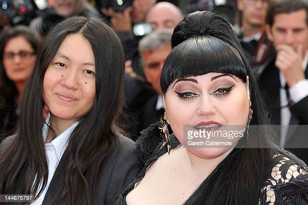 Singer Beth Ditto attends the 'De Rouille et D'os' Premiere during the 65th Annual Cannes Film Festival at Palais des Festivals on May 17 2012 in...