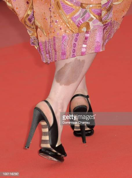 Singer Beth Ditto attends the 'Outside the Law' Premiere at the Palais des Festivals during the 63rd Annual International Cannes Film Festival on May...