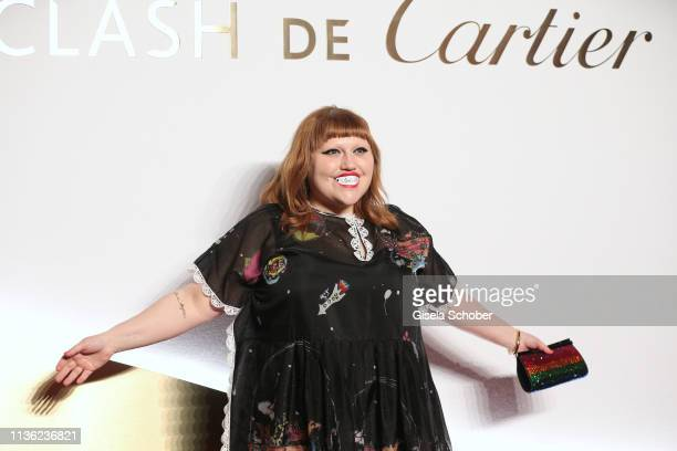 Singer Beth Ditto during the Clash de Cartier event at la Conciergerie on April 10 2019 in Paris France