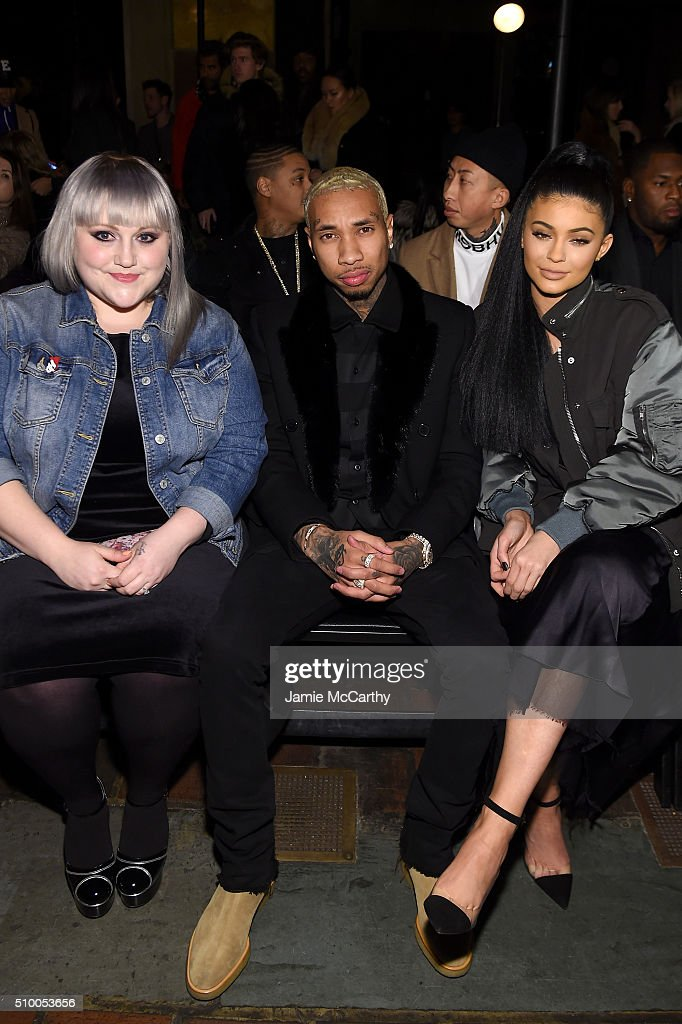 Singer Beth Ditto, Music artist Tyga, TV personality Kylie