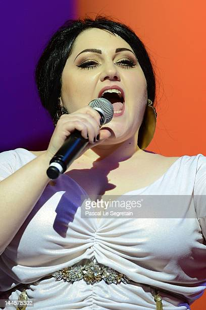 Singer Beth Ditto performs onstage at the Opening Ceremony during the 65th Annual Cannes Film Festival at Palais des Festivals on May 16 2012 in...