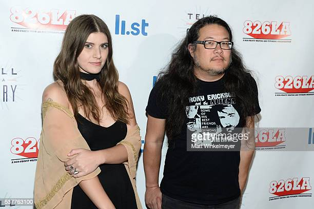 Singer Bethany Cosentino and guitarist Bobb Bruno of the band Best Coast arrive at 826LA's Tell Me A Story at The Wiltern on June 2 2016 in Los...
