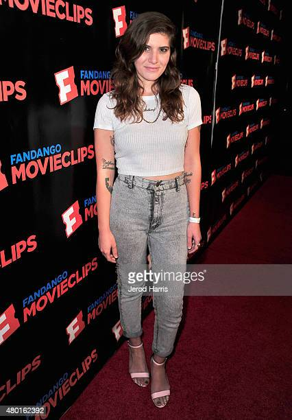 Singer Bethany Cosentino of Best Coast attends the Fandango Movieclips ComicCon party during ComicCon International 2015 at Hilton Bayfront on July 9...