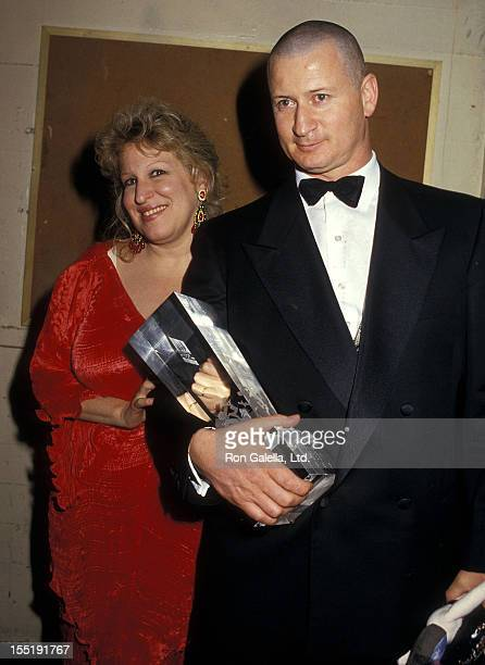 Singer Bette Midler and husband Martin von Haselberg attend the Second Annual American Cinematheque Award Salute to Bette Midler on February 21 1987...